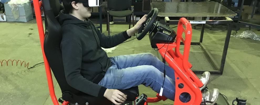 Новый автосимулятор Race-Motion VR